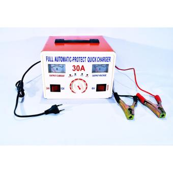 QUICK BATTERY CHARGER FOR CAR BATTERIES 30A - 2