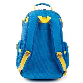 Racini 3-706 Backpack (Blue/Yellow) - 2