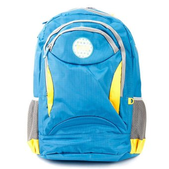 Racini 3-733 Backpack (Blue/Gray)(…)