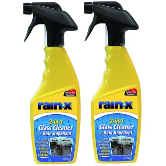 Rain-X 2 in 1 Glass Cleaner and Rain Repellant 500ml Set of 2 Price Philippines