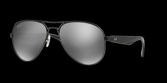 Ray-Ban Highstreet Grey Mirror RB3523 006/6G (59-17) Sunglasses