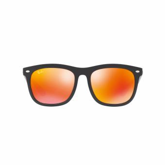 Ray-Ban Sunglasses Chinese New Year Limited Edition RB4260D - Shiny Black (62916Q) Size 57 Brown Mirror Orange - 2