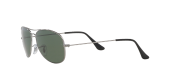 Ray-Ban Sunglasses Cockpit RB3362 - Gunmetal (004/58) Size 59Crystal Green Polarized - 3