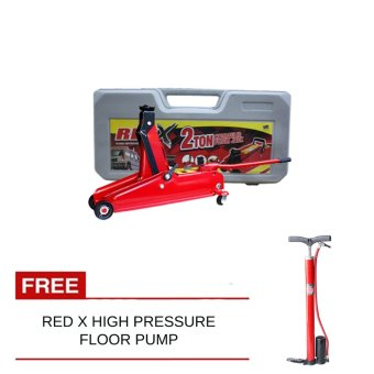 Red X Hydraulic Floor Jack With Hand Pump Mini Price Philippines