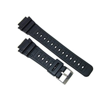 Replacement Matte Resin Strap (Black) for Casio DW-5600C, DW-5700Cand Variants