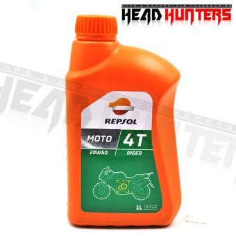 REPSOL MOTO Rider 4T 20W50 Oil 1L Price Philippines