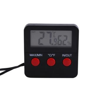 Reptile Vivarium Terrarium Thermometer Hygrometer with Remote Sensor - intl - 2