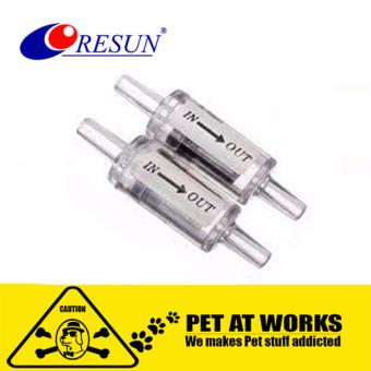Resun One Way Check Valve (2pcs) For fish and aquarium