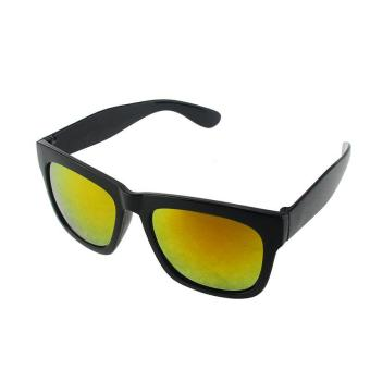 Retro Square Sunglasses Reflective Coating Sun Glasses for Men Women - intl