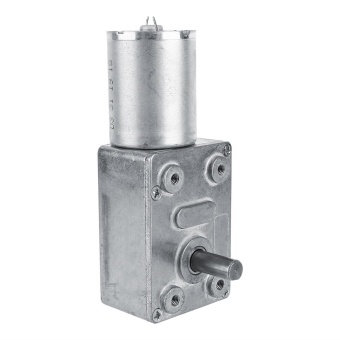 Reversible High Torque Worm Geared Motor DC 12V Reduction Motor(5RPM) - intl - 3