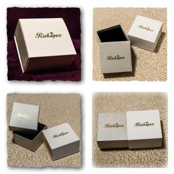 Richapex Mens Stainless Steel Screw Stud Earrings Unisex Womens Ear Plugs Tunnel Jewelry 2 pair sets - 4