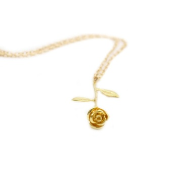 Rose and Pendant Necklace Beauty and The Beast Rose WeddingAnniversary Girlfriend Gift - intl Price Philippines