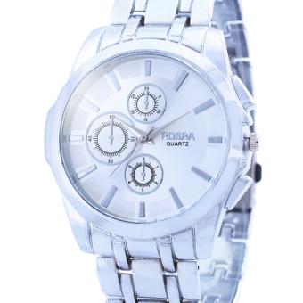 Rosra Garry Silver Stainless Steel Strap Watch - 2