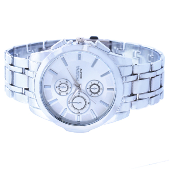 Rosra Garry Silver Stainless Steel Strap Watch - 3