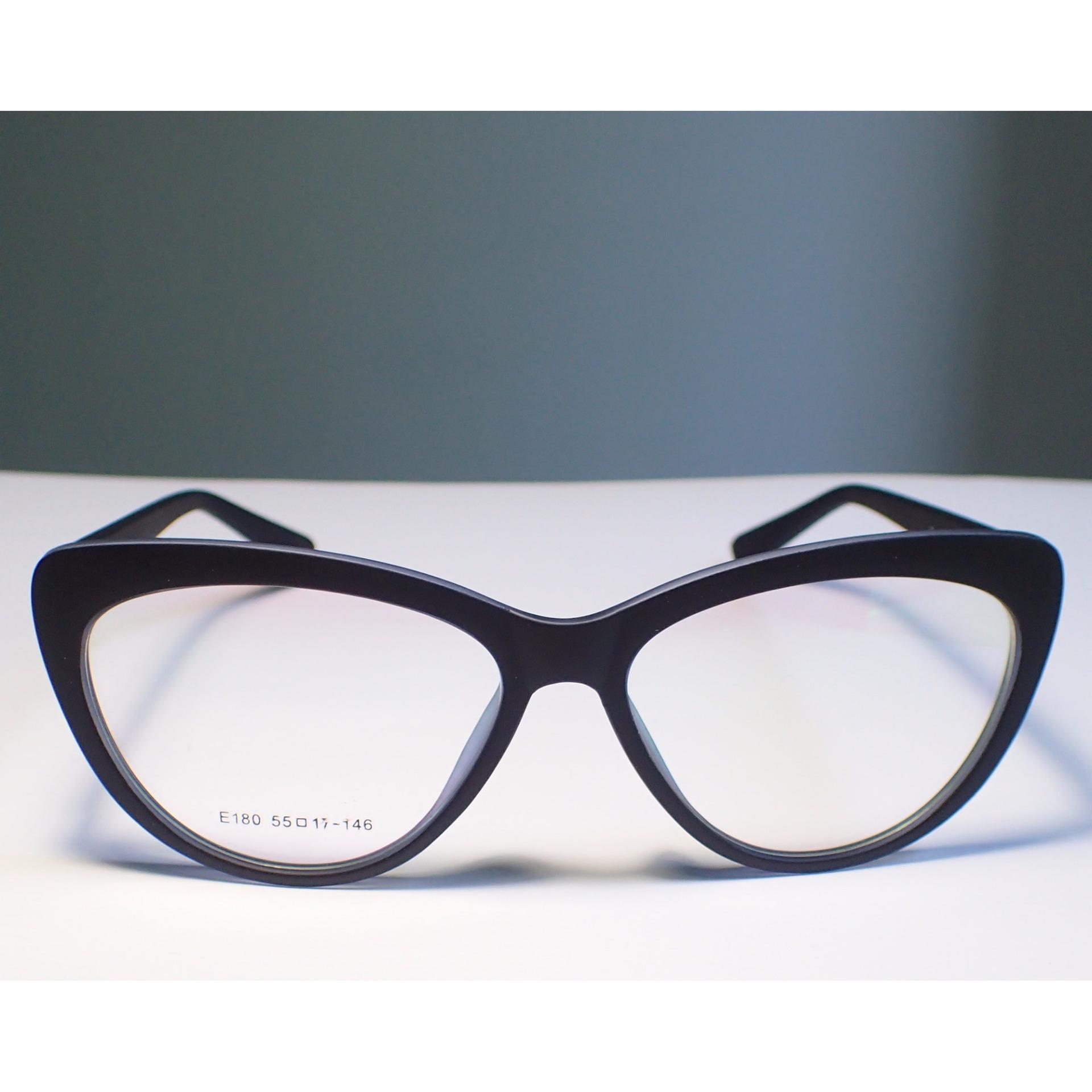 Philippines   Rubberized Eyeglass Frame - Cat Eye Phat Black Price ...