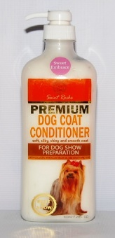 Saint Roche Premium Dog Coat Conditioner 500ml For Puppies And Adult Dogs