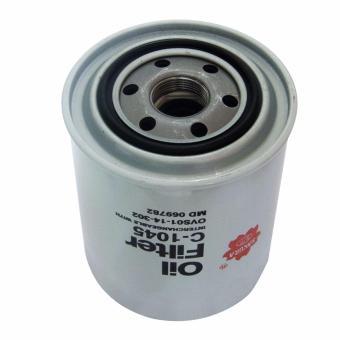 Sakura Oil Filter C-1045 for Mitsubishi Montero Sport 2.5 4x2 /4x4, Pajero 2.5, Strada 2.5 4x2 / 4x4, Adventure 2.5 D, L200 2.5 D,L300 2.5 D & Space Gear 2.5 D - 2