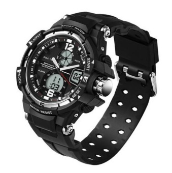 SANDA 289 Sport Watch Men Diving Camping Waterproof Clock For Mens Watches Top Brand Luxury Military relogio masculino montre 289 - intl