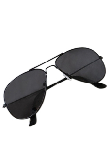 Sanwood Classic Aviator Sunglasses (Black)