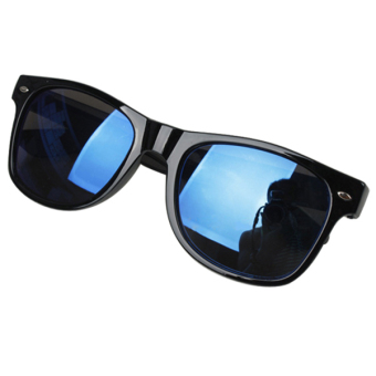 Sanwood Mercury Mirror Shade UV Protection Sunglasses (Blue) - picture 2