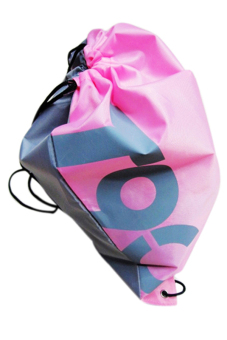 Sanwood Swimming Drawstring Beach Bag Pink