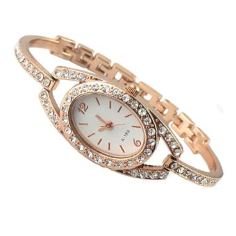 Sanwood Women's Rhinestone Stainless Steel Wrist Watch