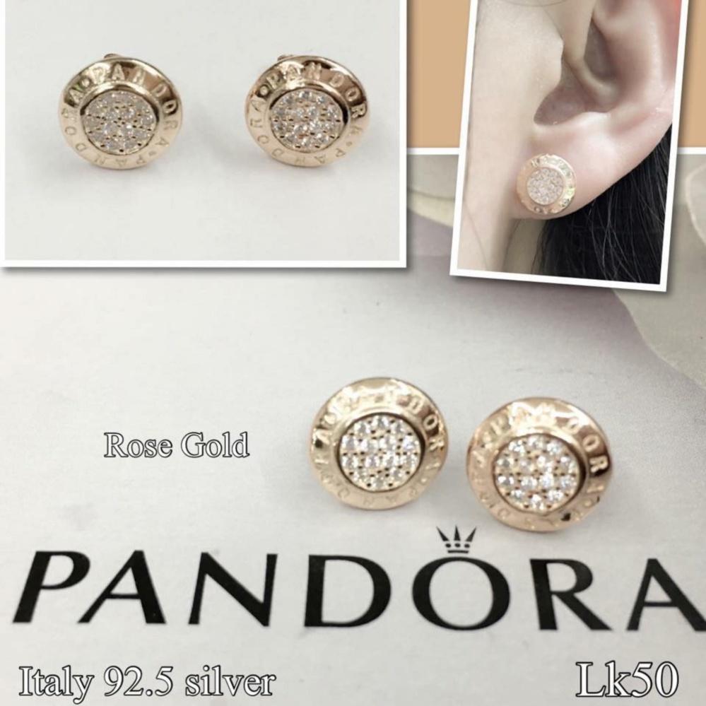 89d82afaf ... cz stone f29a4 104c2; spain saudi gold 18k christhas collection online  boutique shoppe pandora 92.5 sterling silver janice round stud