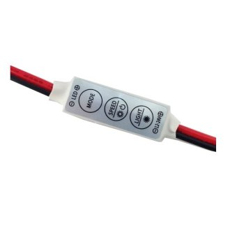 Sec 00492 Blinker Single Color LED Switch (White) - 2