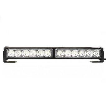 SEC 00753 2 x 6 LED Strobe Light Bar Blinker White 12Watts
