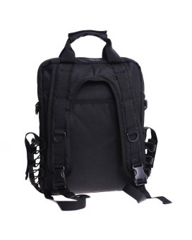 """Seibertron waterproof Molle Tactical 14""""(inch) Laptop Sling BAGBackpack Black - 2"""