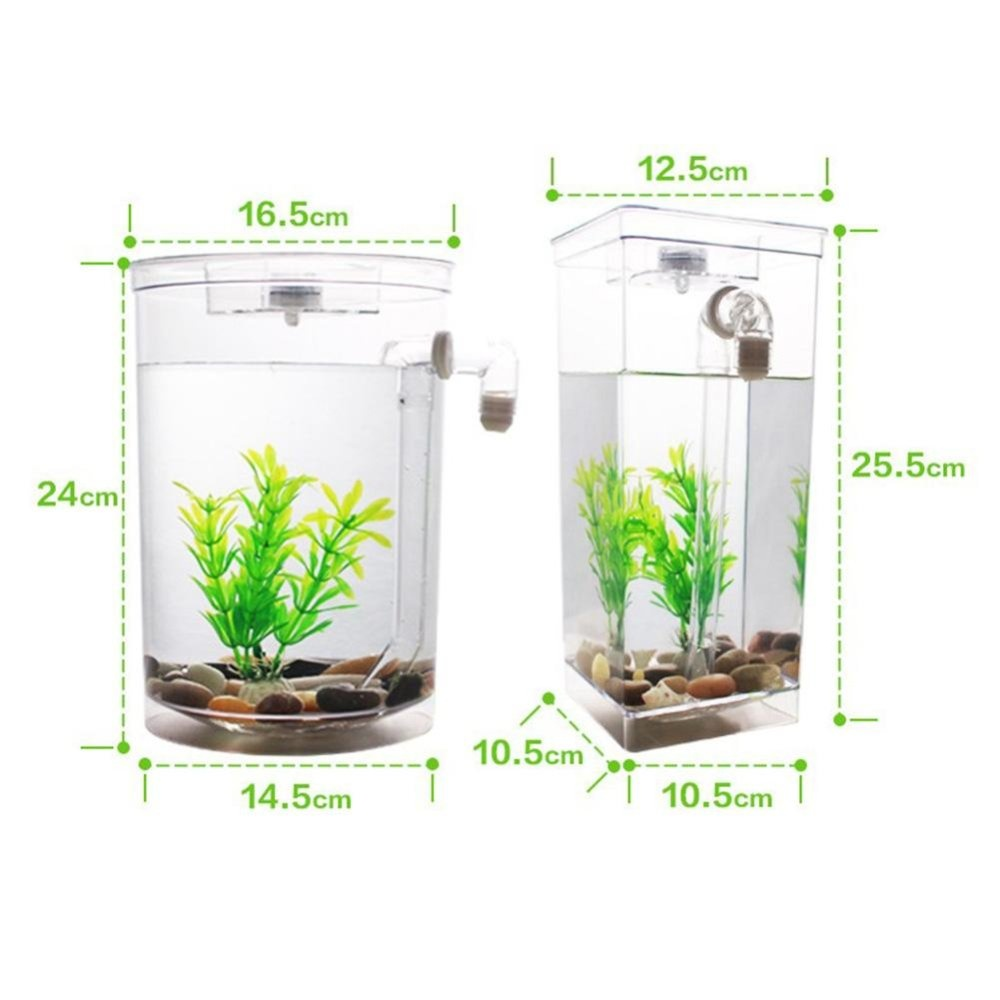 Philippines self cleaning plastic fish tank desktop for Self cleaning betta fish tank