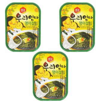 Sempio Canned Wild Garlic Leaves in Soy Sauce set of 3