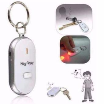 Set of 5 LED Anti-Lost Key Finder Keychain Whistle BeepSound(Assorted Color) - 3