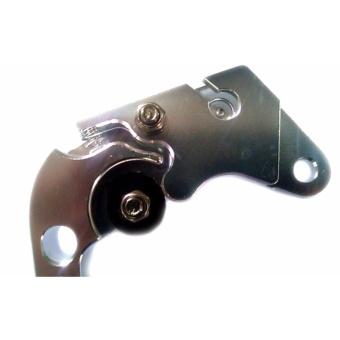 Set of LTC Motorcycle Racing Hand lever Break/Clutch lever forHonda TMX (Silver) - 3