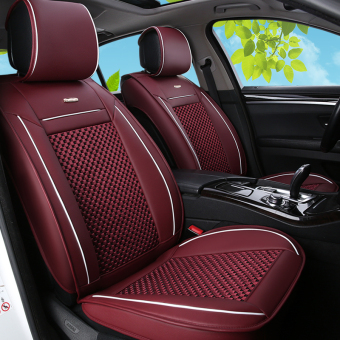 Shanghai Volkswagen Polo leather car seat cover New style viscose fibre seat cover