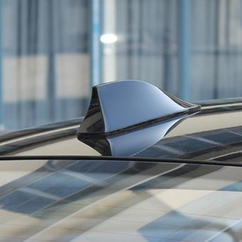 Shark fin Shape antenna signal Car radio(Black)-17X7.5X5.5cm - intl - 3