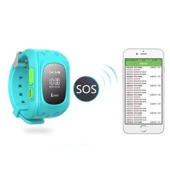 Shpsammall-Kids Safe GPS/GSM Watch Wristwatch SOS Call Anti LostSmartwatch For Kids - intl - 2