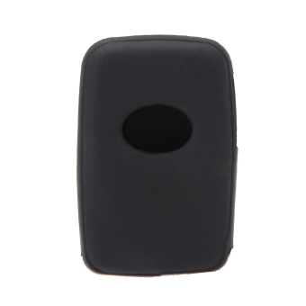 Silicone Skin Car Remote Fob Shell Key Holder Case Cover for ToyotaLand Cruiser Prado(2010) 3 Buttons. - 4