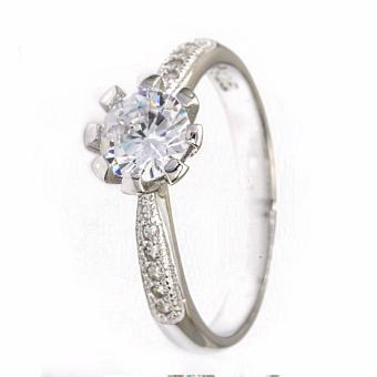 Silverworks R6257 Engagement Ring