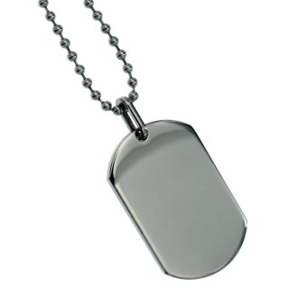 Silverworks X1866 Steel Dogtag Necklace - 2