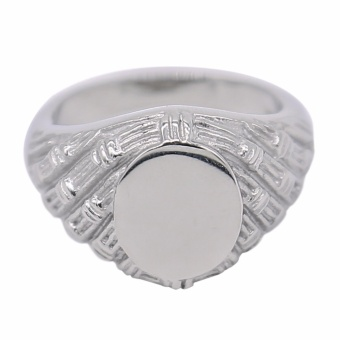 Silverworks X2498 Signet Ring (Silver)