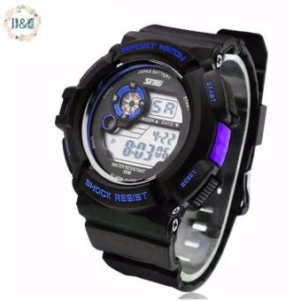 SKMEI 0939 Men's Military LED Watch Water Resistant Sports Wristwatch