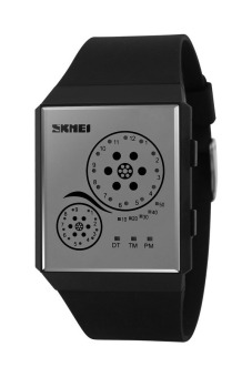 Skmei 1073 Sports Watch With LED (Black)