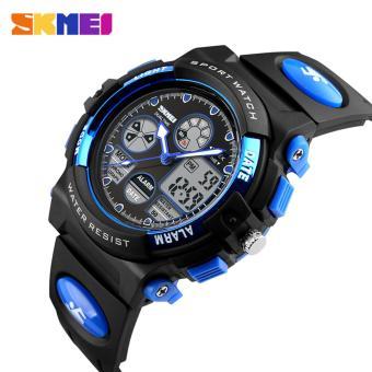 SKMEI 1163 Digital Men's Watch Outdoor Sport Watches Chronograph Fashion Clock PU Band Waterproof Wristwatches for Men - 2