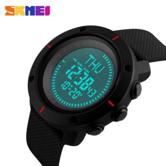 SKMEI 1216 Men's Countdown Sports Watches Digital LED Back Light Man Quartz Watch Military Alarm Waterproof Clock Fashion Outdoor Wristwatch - 4