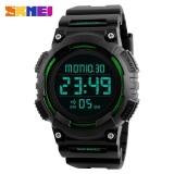 SKMEI 1248 Men's LED Digital Countdown Sports Watch -Green - intl