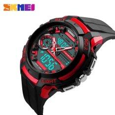 Skmei 50M Waterproof Mens Sports Watches 2017 Hot Men SiliconeSport Watch Shockproof Electronic Wristwatch 1202 -