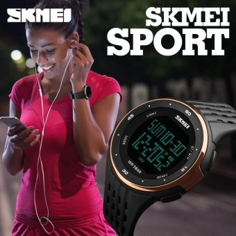 SKMEI Brand Sports Watches Waterproof Chronograph Alarm LED Digital Watch For Men Women Multifunction Outdoor Sport Wristwatch - intl