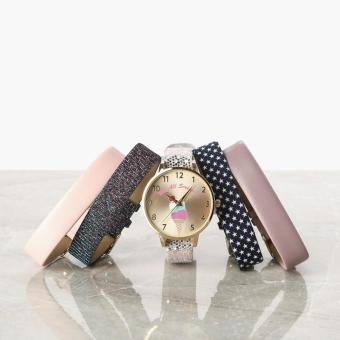 SM Accessories Girls Sweets Interchangeable Strap Watch