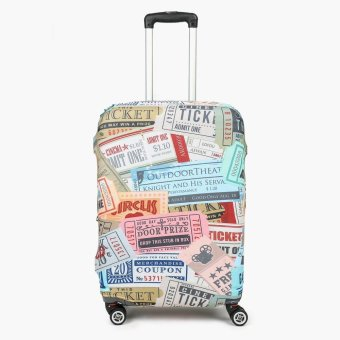 SM Stationery Tickets Large Luggage Cover
